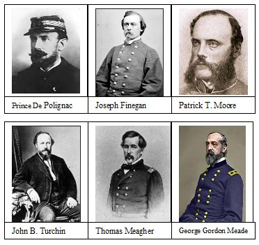 Six Foreign Born Generals