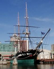 USS Constellation: Last all-sail warship built by the US Navy.